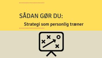 strategi som personlig træner