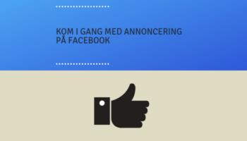 annoncering på facebook