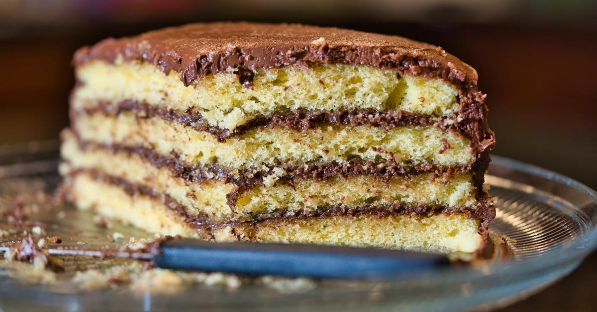 layered audience cake